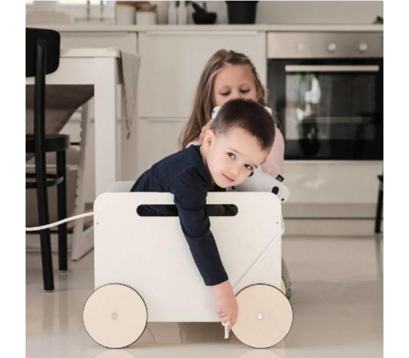 Ooh Noo speelgoedkist op wielen