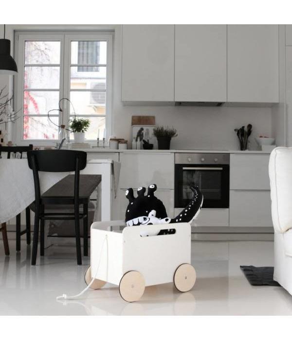 Ooh Noo toy box on wheels