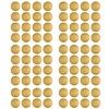 Pom le Bonhomme 80 muurstickers stippen goud 3,5 cm