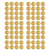 Pom le Bonhomme 80 wall stickers polka dots gold 3.5 cm
