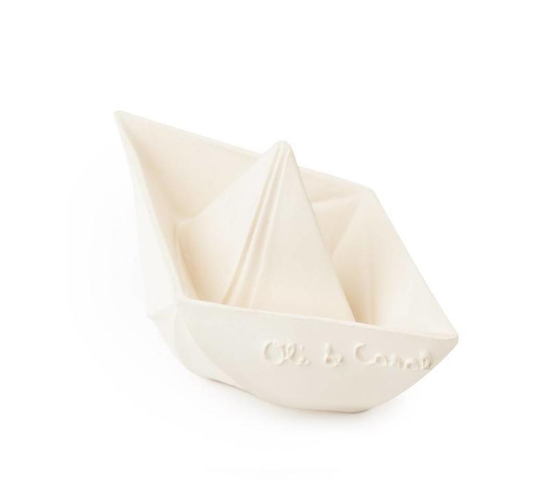 Oli & Carol badspeeltje bootje wit