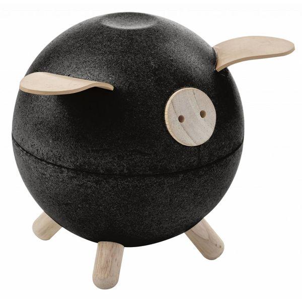 Plan Toys piggy bank black