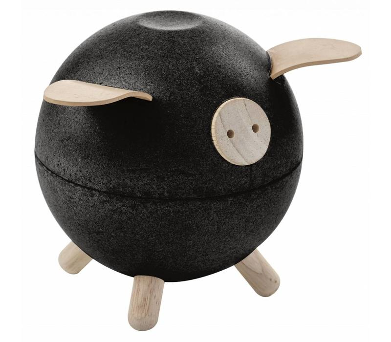 Plan Toys piggy bank black
