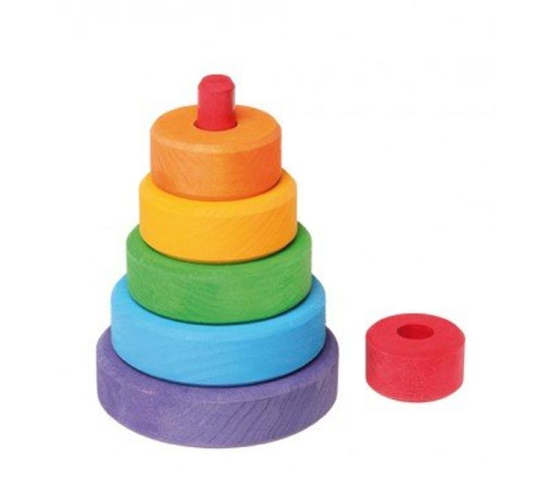 Grimm's Toy's tower around small