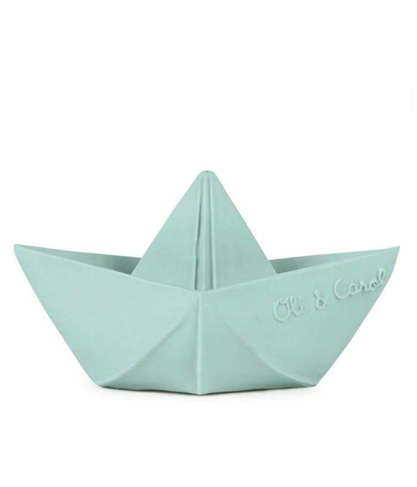 Oli & Carol bathing boat boat mint