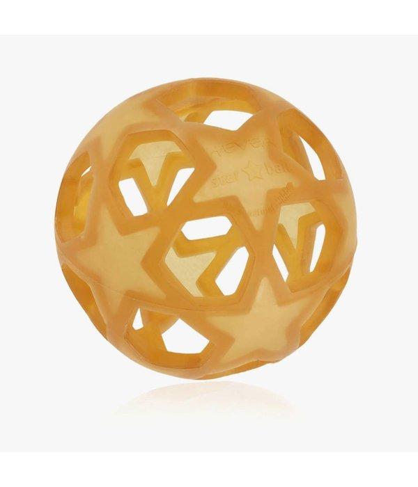 Hevea ball star naturel