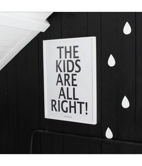 MiniWilla poster the kids 50x70cm