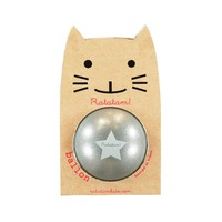 Ratatam glitter ball silver small