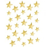 Lilipinso stickers sterretjes goud effect