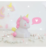 A Little Lovely Company Unicorn Lamp