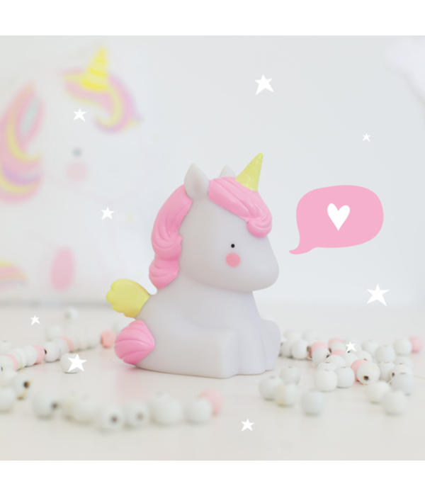 A Little Lovely Company unicorn lampje