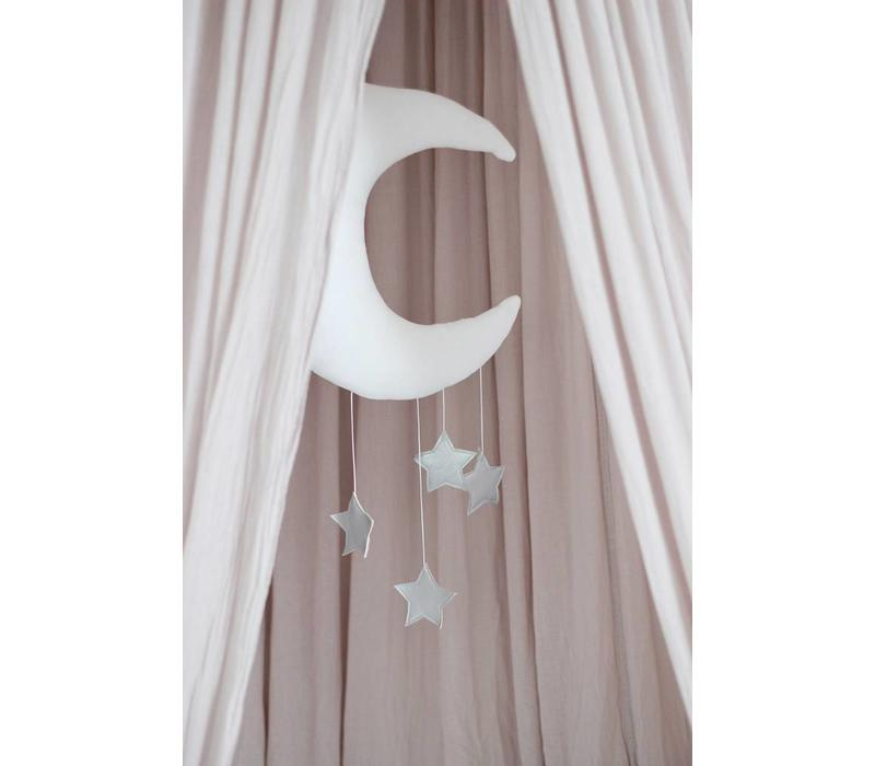 Cotton & Süßwaren Mond Altrosa - Goldstars