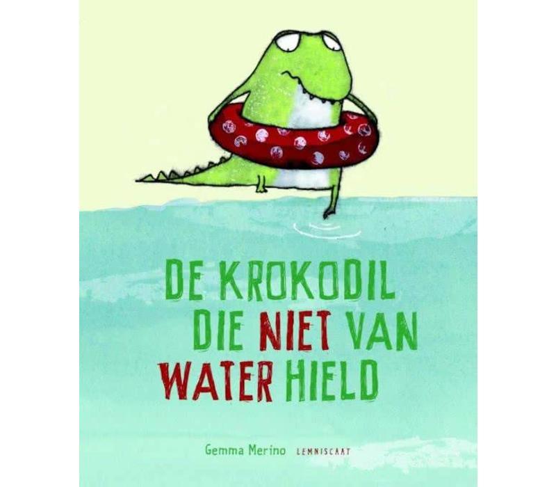Boek De krokodil die niet van water hield