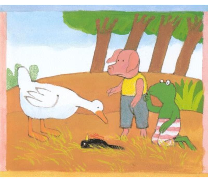 Book Frog and the bird