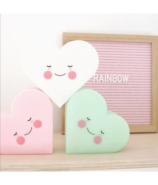 Eef Lillemor night light heart mint