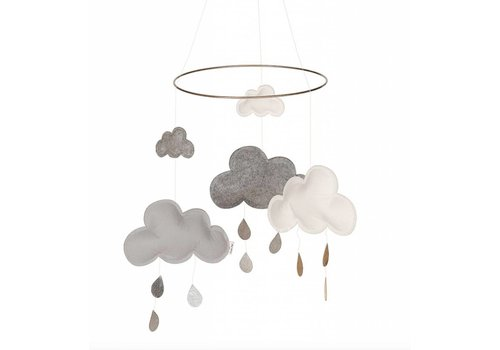 Kongens Sløjd mobile cloud gray