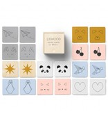 Loodood wooden memory game mix
