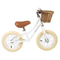 Banwood loopfiets first go! white