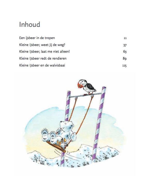 Boek Kleine ijsbeer bundel met vijf avonturen met Lars