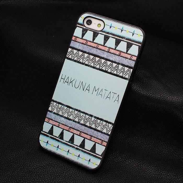 Hakuna matata hardcase hoesje voor iPhone 5/5S