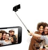 Selfie Stick met Afstandsbediening - Wit