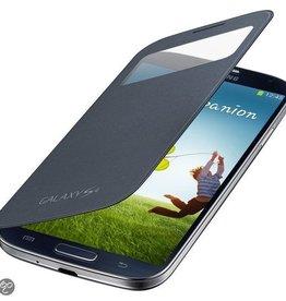S-view Case Samsung Galaxy S4 Zwart