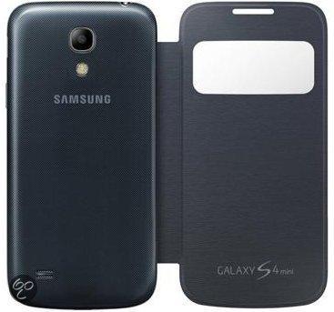 S-view Case Samsung Galaxy S4mini Zwart