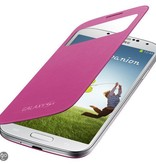 S-view Case Samsung Galaxy S4mini Roze