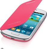 Flip Case Samsung Galaxy S3mini Roze