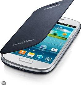 Flip Case Samsung Galaxy S3mini Donker Blauw