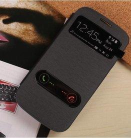 S-view Case Samsung Galaxy S3 Zwart