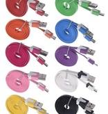 Patte Micro USB kabel 1 meter roze