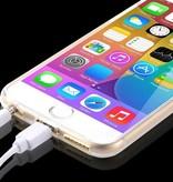 Flexibele Siliconen soft case iPhone 6 grijs