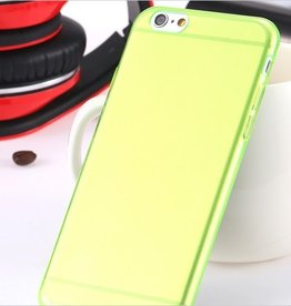 Siliconen case iPhone 6 groen