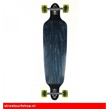 San Clemente Heat Press Black Stain Longboard