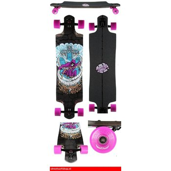 "Santa Cruz Death Pool 38.3"" Drop Through Longboard"