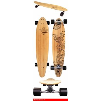 Nijdam Nijdam Kicktail Longboard Bambus