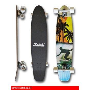Miller Kabuki kicktail Longboard