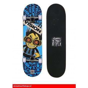 Vision Vision Kiddy Japan Blau Skateboard