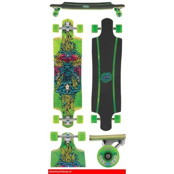 "Santa Cruz Sea Gottes Grüne 38,3 ""Drop Through Longboard"