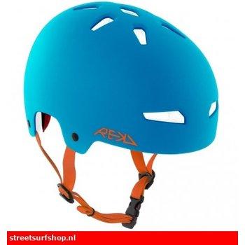 REKD REKD Helm Blauw Oranje