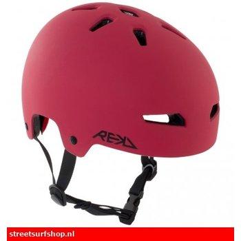 REKD REKD Helm Rood Zwart