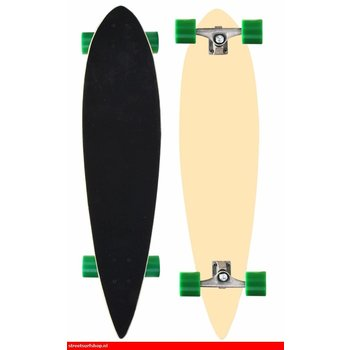 Nijdam Nijdam Vortex Pintail Longboard II Natural / green