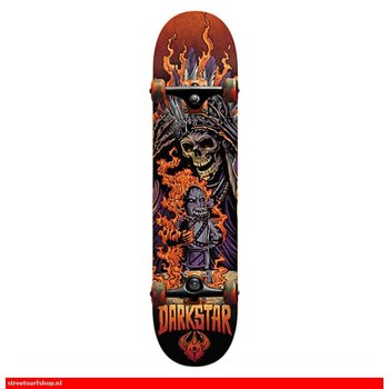 Darkstar Torch FP Orange Complete Skateboard 8.0