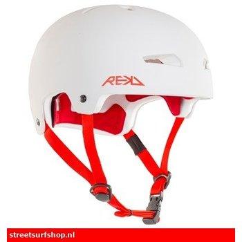 REKD REKD Helm Weiß Rot