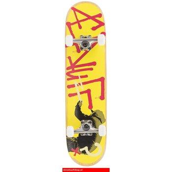 """Enuff Enuff Tag Graffiti 29.5"""" Skateboard Yellow"""