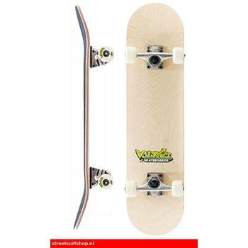 Voltage Graffiti Logo Yellow Skateboard