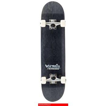 Voltage Graffiti Logo Black Skateboard