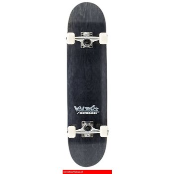 Voltage Voltage Graffiti Logo Black Skateboard
