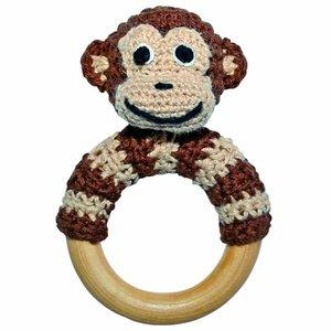 Sindibaba Häkelaffe auf Ring